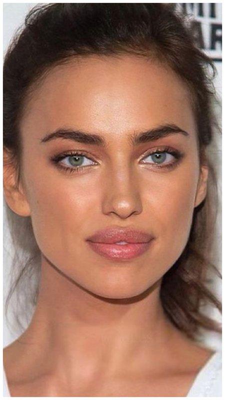 Красивый нюдовый макияж глаз