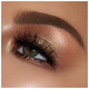 Красивый коричневый макияж