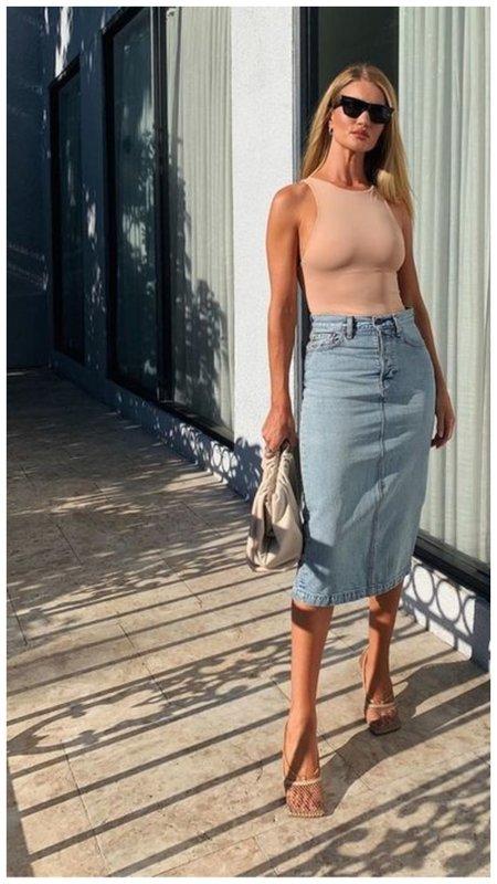 Как стильно носить боди Zara