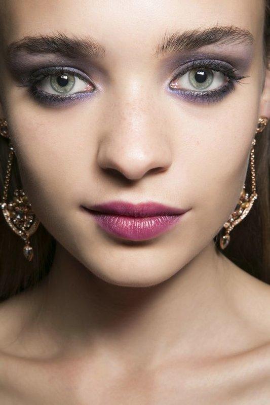 Сочный макияж для зеленых глаз