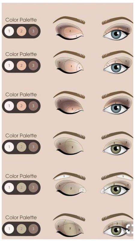Техники нанесения макияжа глаз
