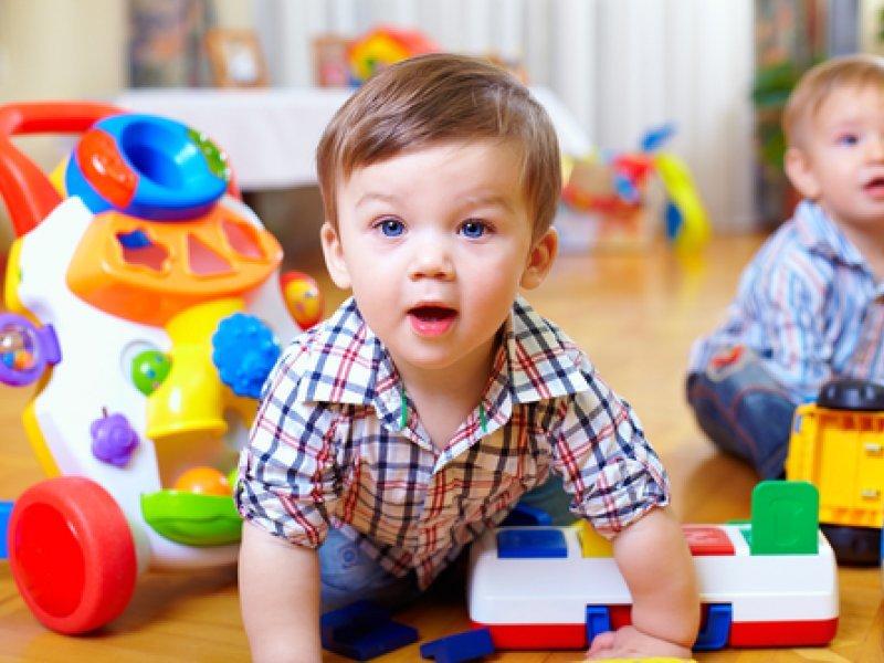 Мальчик в садике 2 года