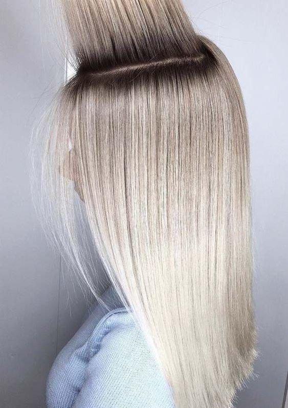 Окрашивание волос с технике аиртач