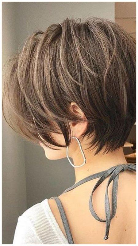 Стрижка для тонких волос фото