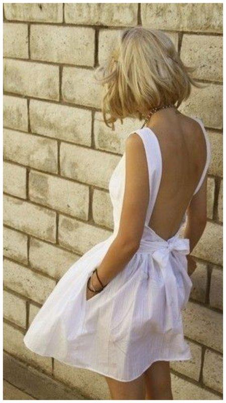 Сарафан с открытой спиной