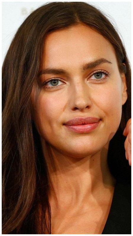 Ирина Шейк нюдовый макияж