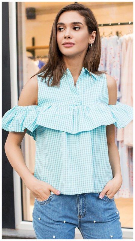 Красивая летняя блузка