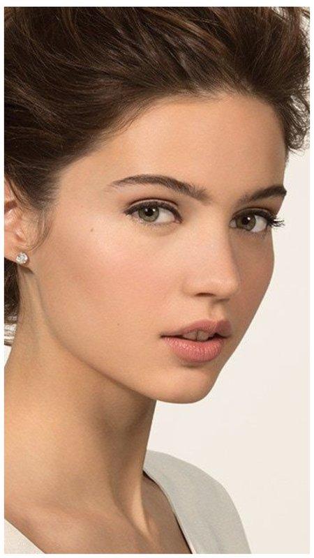 Незаметный макияж для невесты