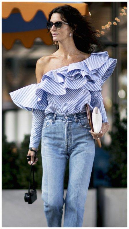 Очень стильная блузка для женщины