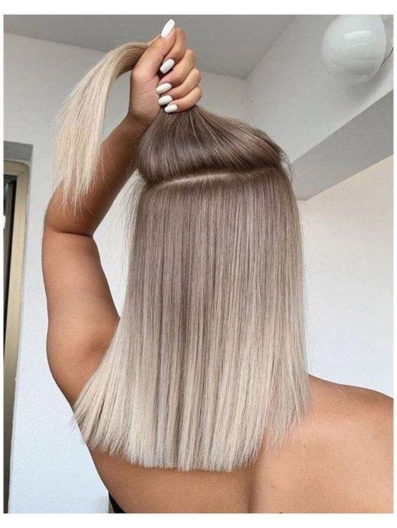 Окрашивание волос с технике аиртач фото
