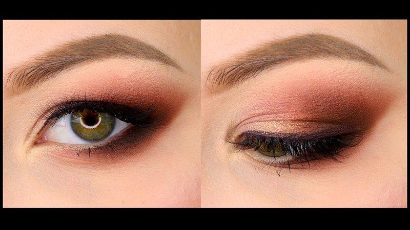 Возрастной макияж для глаз