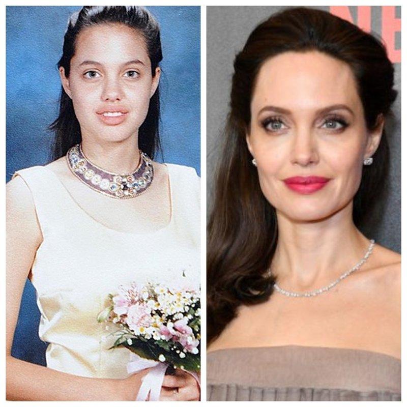 Анджелина Джоли фото с выпускного