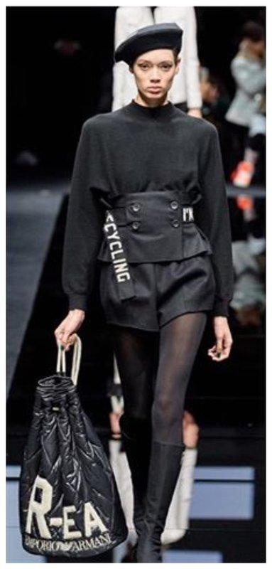 Модная одежда с логотипа брендов