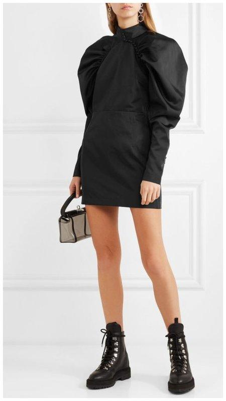 самый модный фасон коротких платьев осень 2020