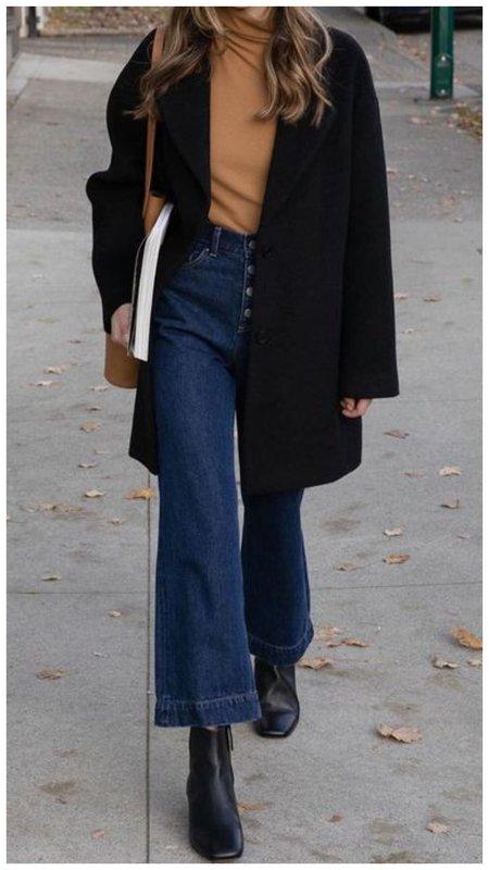 Прикольные джинсы на осень фото
