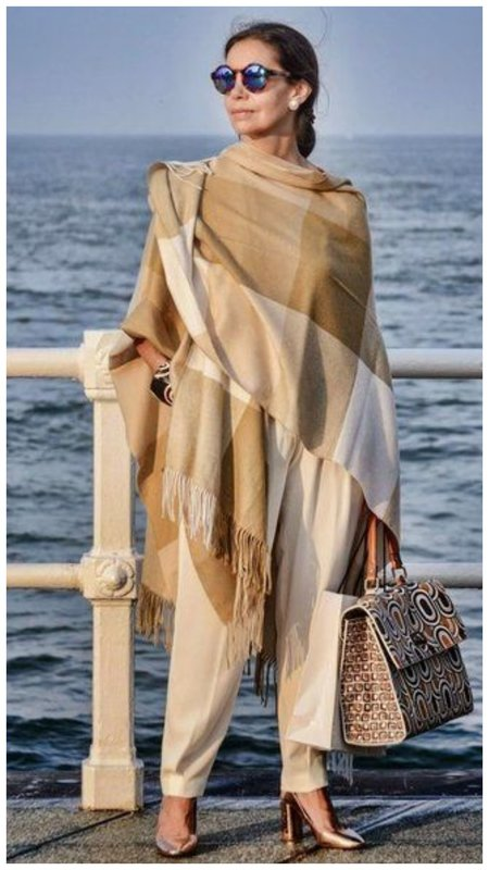 Образ в итальянском стиле для женщин 50+