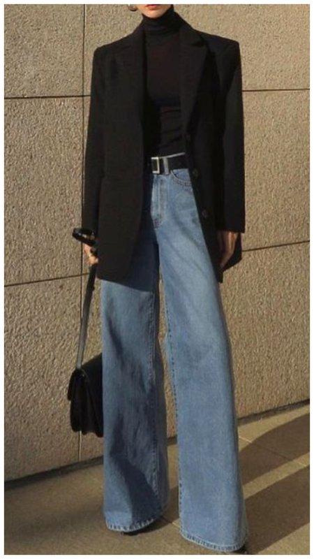 Самый модный фасон джинсов осень 2020