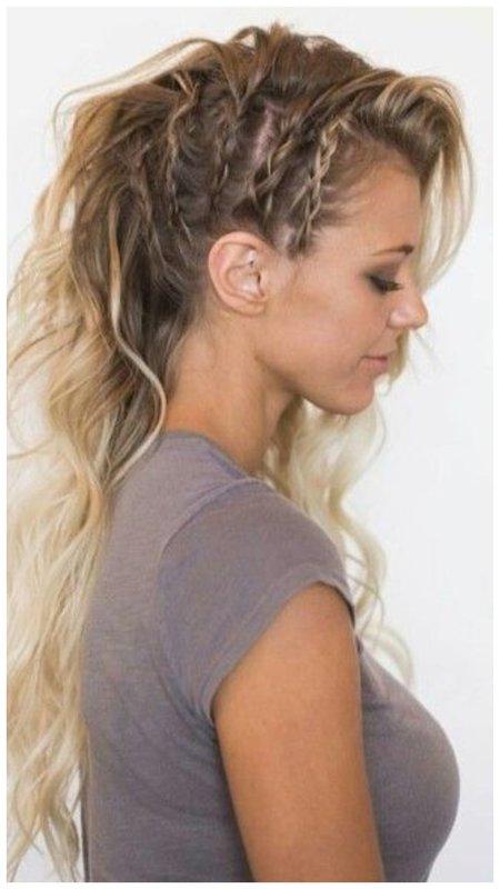 Классная прическа для длинных волос