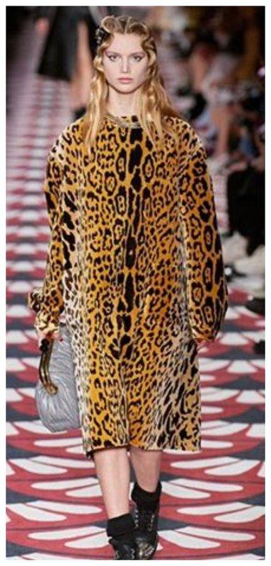 Модный леопардовый принт осень зима 2020