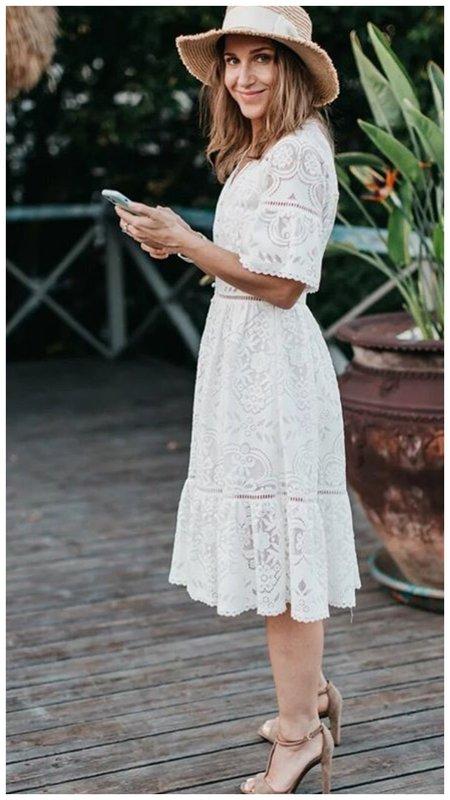 Юлия Ковальчук в платье