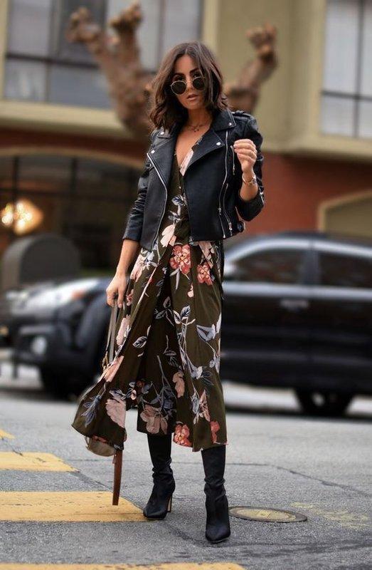 Модный осенний образ для женщин