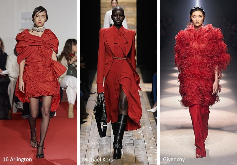 Самый модный красный цвет