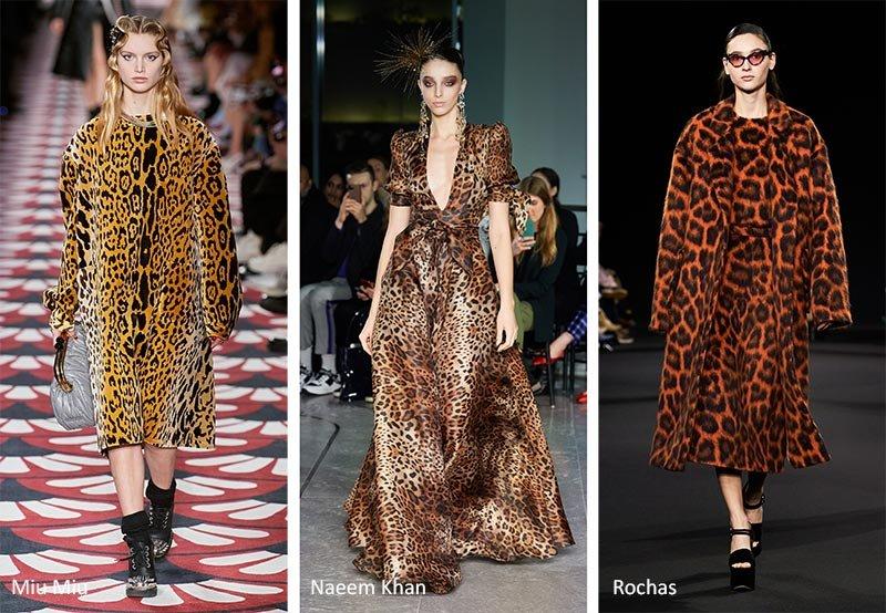 Модный принт леопард