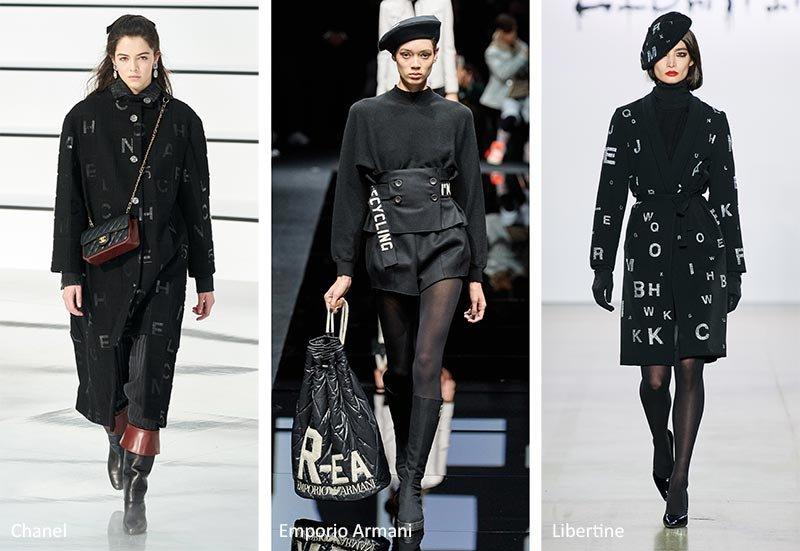 """Модный принт """"логотипы"""""""