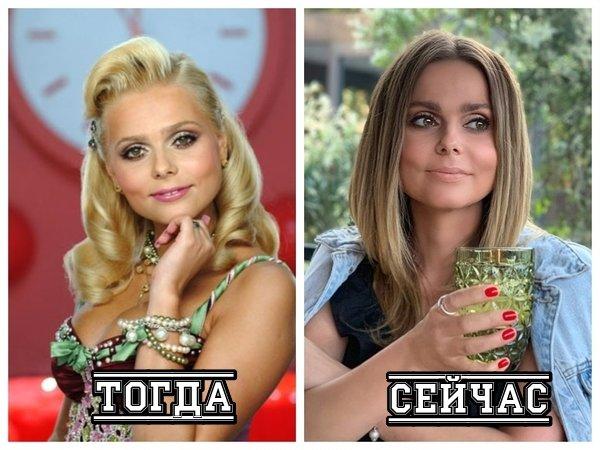 Ксения Новикова тогда и сейчас