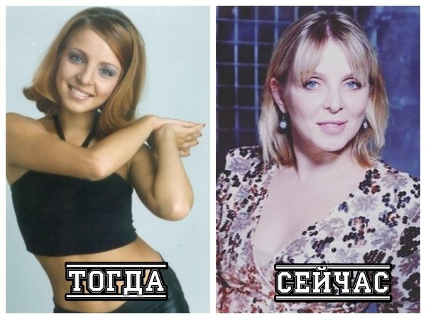 Ирина Лукьянова тогда и сейчас