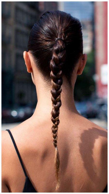 Элегантная прическа для длинных волос