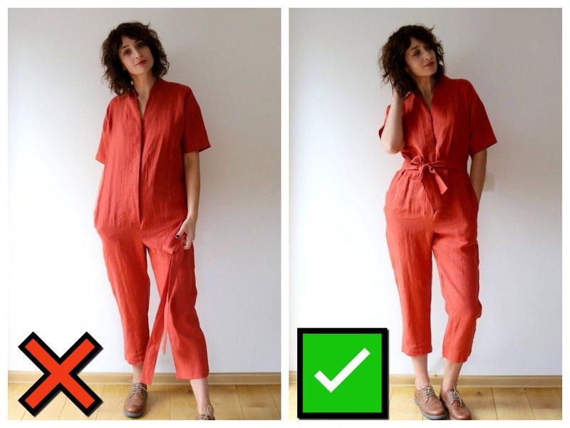 Как правильно носить комбинезон