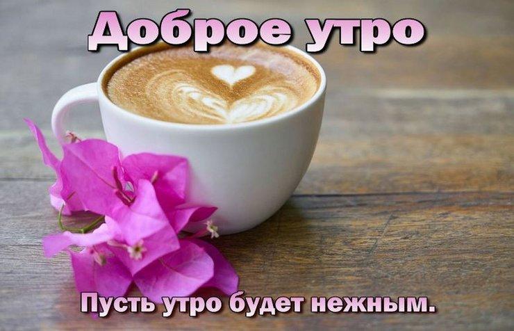 Пожелание с добрым утром девушке на работу в параметры кейт мосс