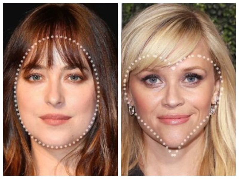 Как подобрать челку по форме лица