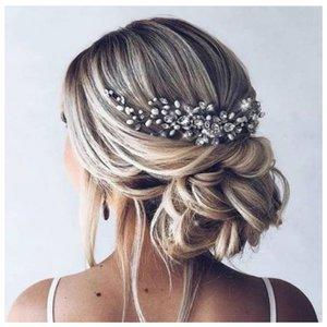 Красивая прическа для длинных волос на свадьбу