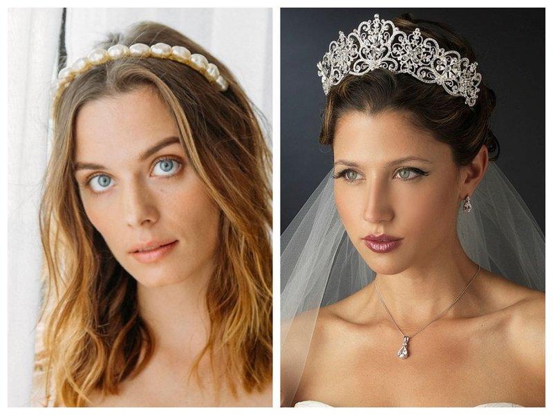 Какую выбрать корону для невесты