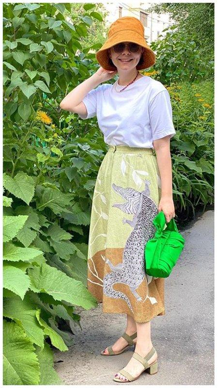 Модный летний образ Татьяны Брухуновой