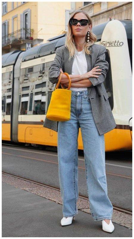 Обычные джинсы фото