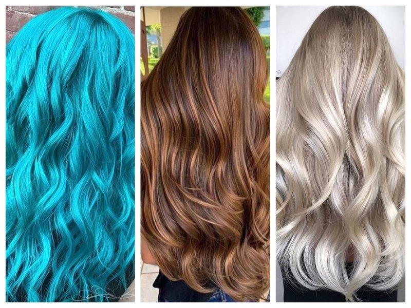 Красивые оттенки волос на 2021 год