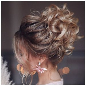 Как красиво собрать волосы на свадьбу