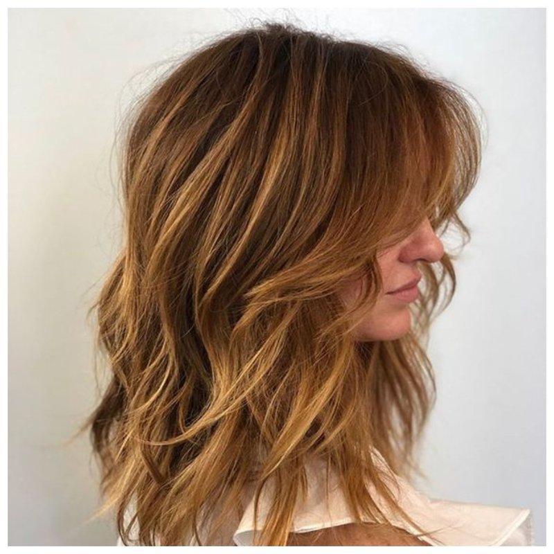 Градуированная стрижка фото для длинных волос