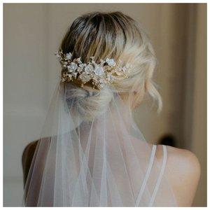 Как крепить фату на свадьбу