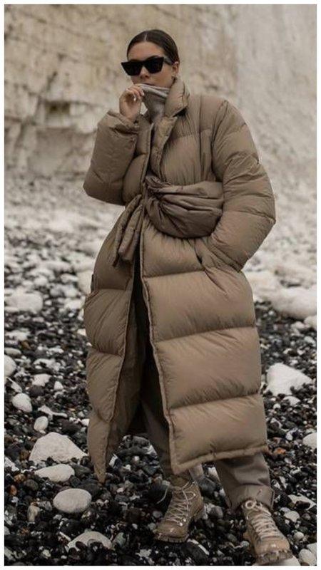 Самая модная модель пуховика зима 2021 фото