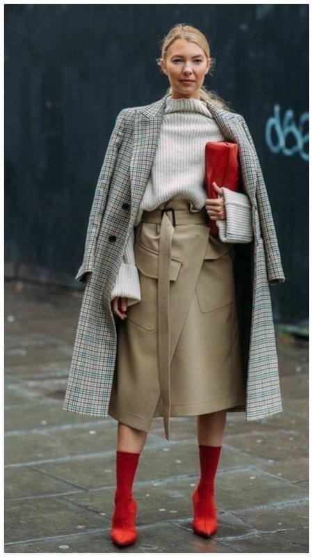 Модная осенняя юбка