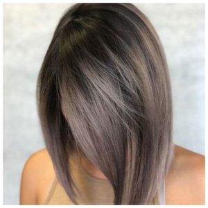Волосы средней длины и укладка