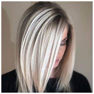 Укладка прямые волосы