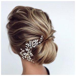 Стильное украшение для волос для невесты