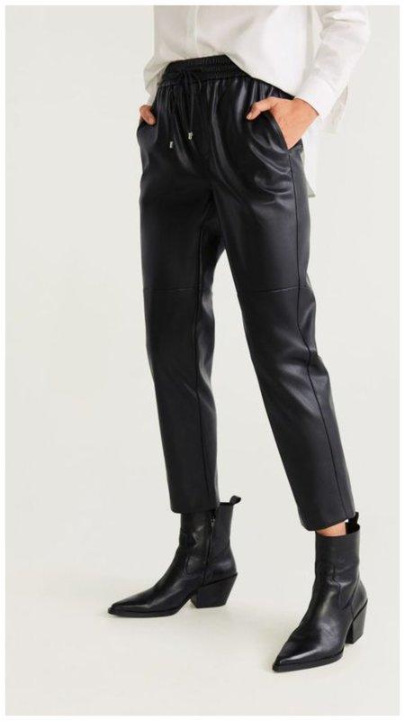 Модные брюки с веревками вместо молнии
