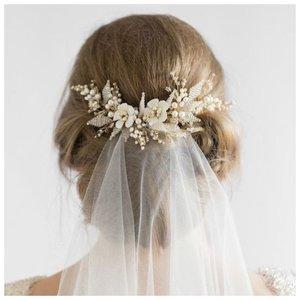 Как красиво прикрепить фату на свадьбу