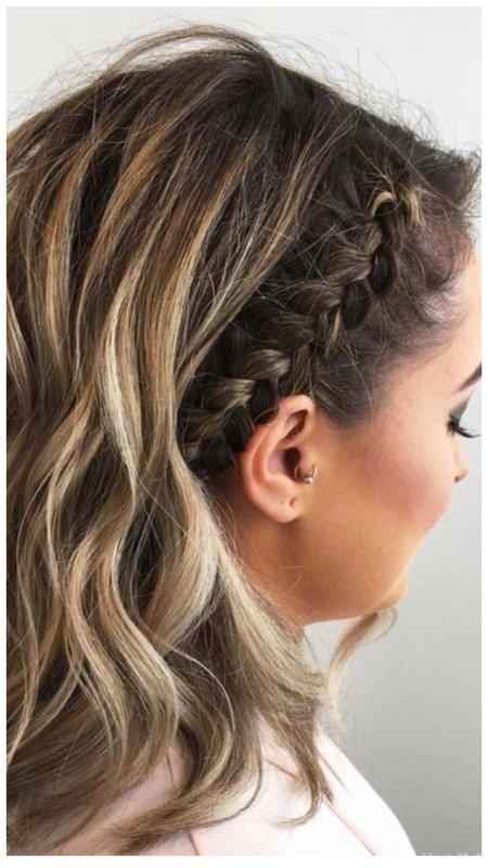 Прическа для невесты с распущенными волосами